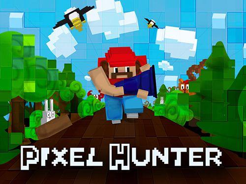 логотип Пиксельный охотник