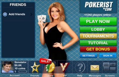 Gambling games: download Texas Poker Pro to your phone