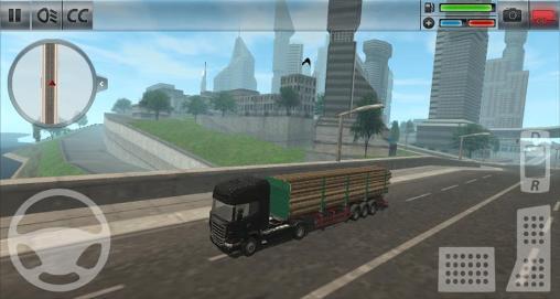 Simulação Simulador de caminhão: Cidadepara smartphone