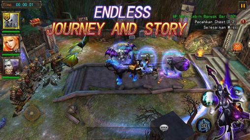 The exorcist: 3D action RPG for Android