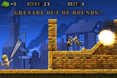 Arcade-Spiele: Lade Granatenkrieger auf dein Handy herunter