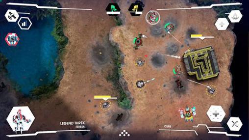 オンラインゲーム: 電話に コロッサス・コマンドをダウンロード