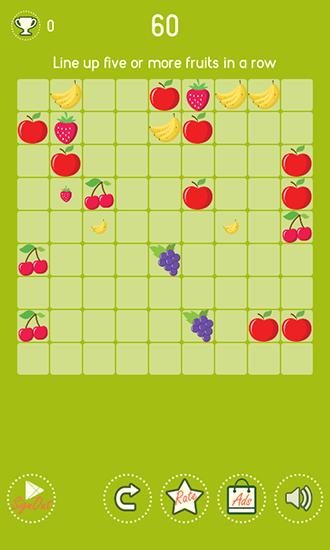 Rätsel Fruit lines auf Deutsch