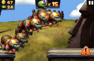 Screenshot Zombie-Karneval auf dem iPhone