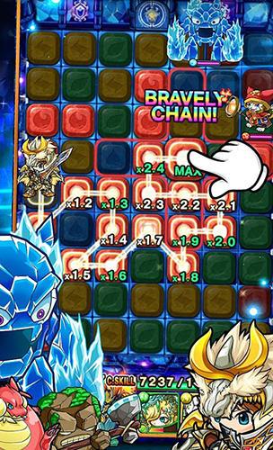 Arcade-Spiele Chain dungeons für das Smartphone