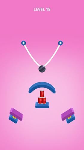 アンドロイド用ゲーム ロープ・スラッシュ のスクリーンショット