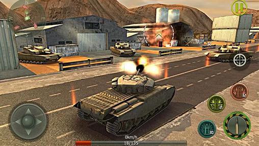 Tank strike 3D für Android