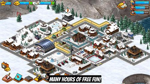 Paradise city island sim für Android