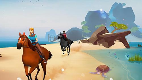 オープンワールドゲーム Horse adventure: Tale of Etria の日本語版