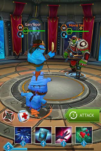 MOBA-Spiele Versus: PVP duels auf Deutsch