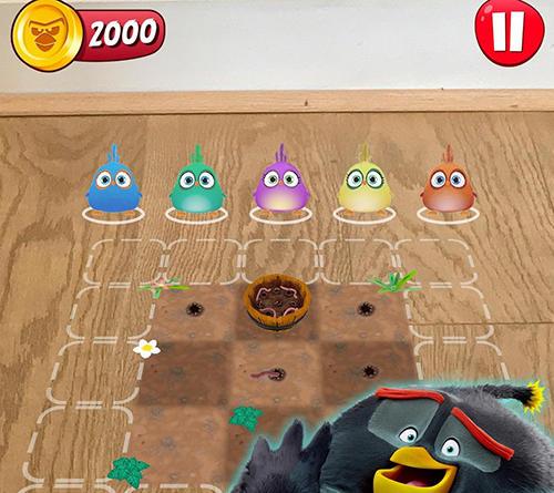 Arcade-Spiele Angry birds explore für das Smartphone