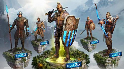 Fantasy-Spiele The conquerors: Empire rising auf Deutsch
