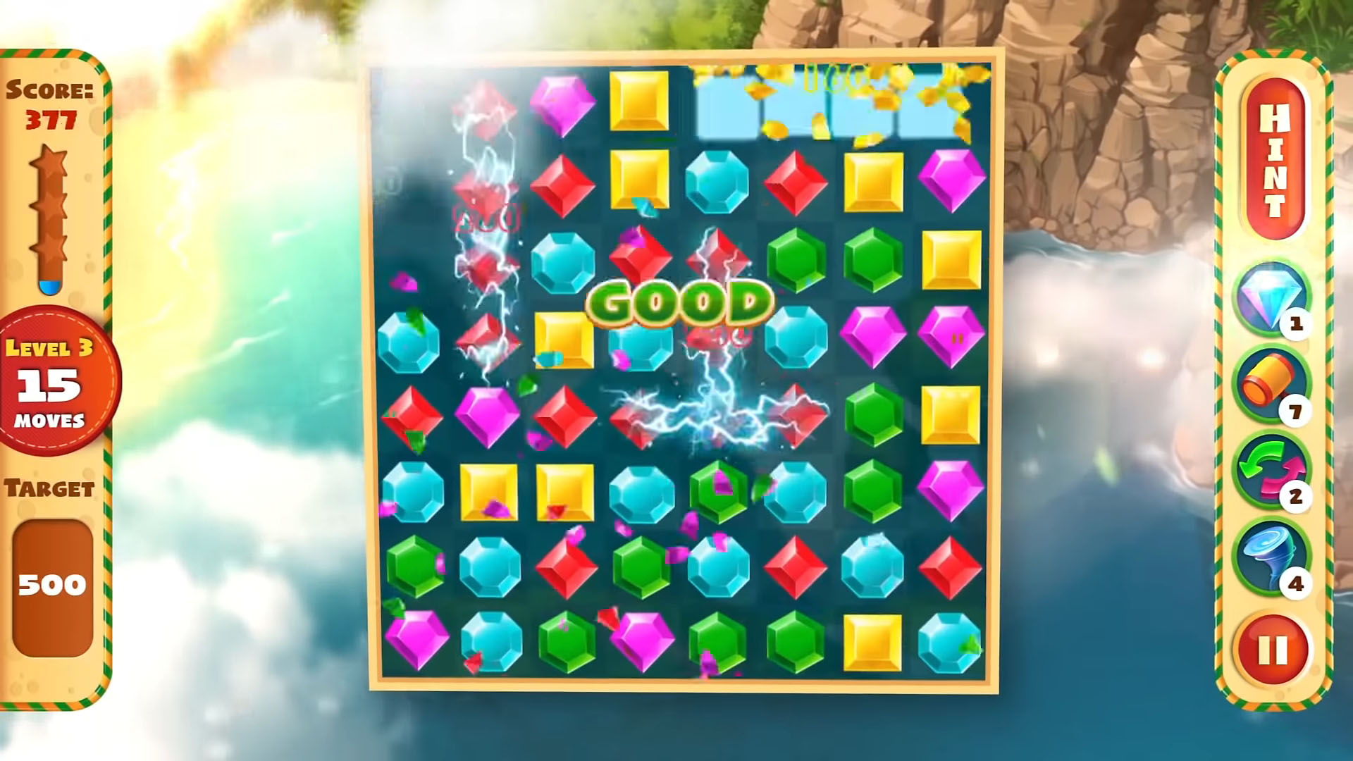 Jewel Empire : Quest & Match 3 Puzzle para Android