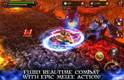 Screenshot Ewige Krieger 2 auf dem iPhone