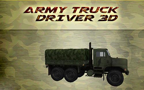 Capturas de tela de Army truck driver 3D