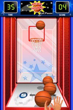 Arcade Hoops Basketball in Russian