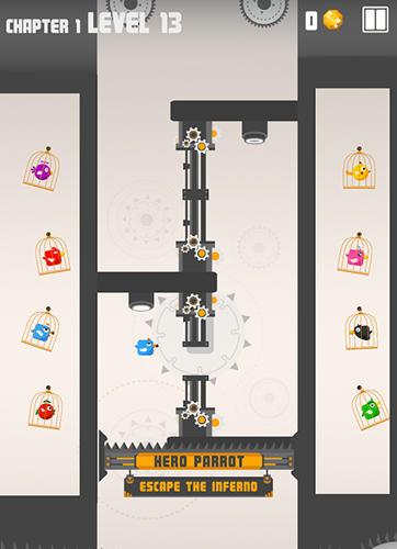 Arcade: Lade Helden Papagei auf dein Handy herunter