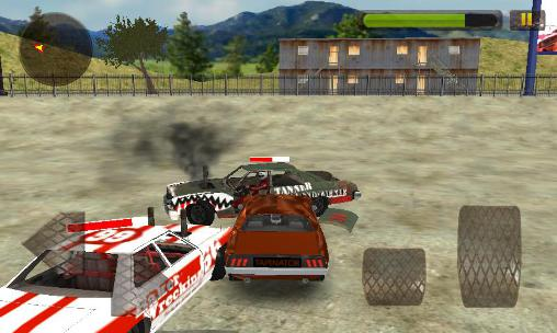 Racing games Car wars 3D: Demolition mania for smartphone