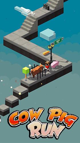 Cow pig run Screenshot