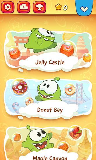 Jogos de arcade Om Nom: Bubblespara smartphone