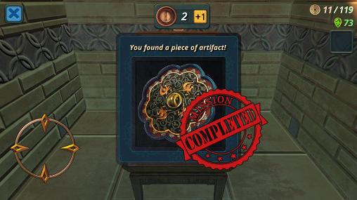 Relic seeker: 3D maze Screenshot