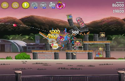 Angry Birds Seasons: with power-ups на русском языке
