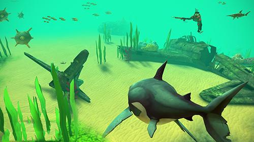 Hungry shark VR captura de pantalla 1