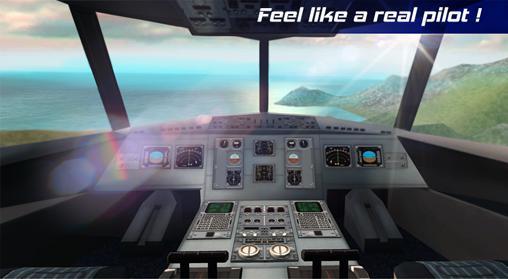 Real pilot flight simulator 3D für Android