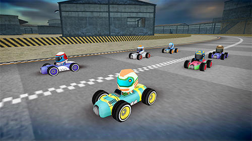 Rush kart racing 3D auf Deutsch