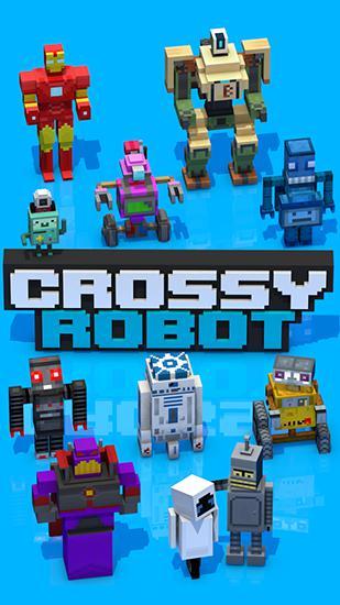 Crossy robot: Combine skins Screenshot