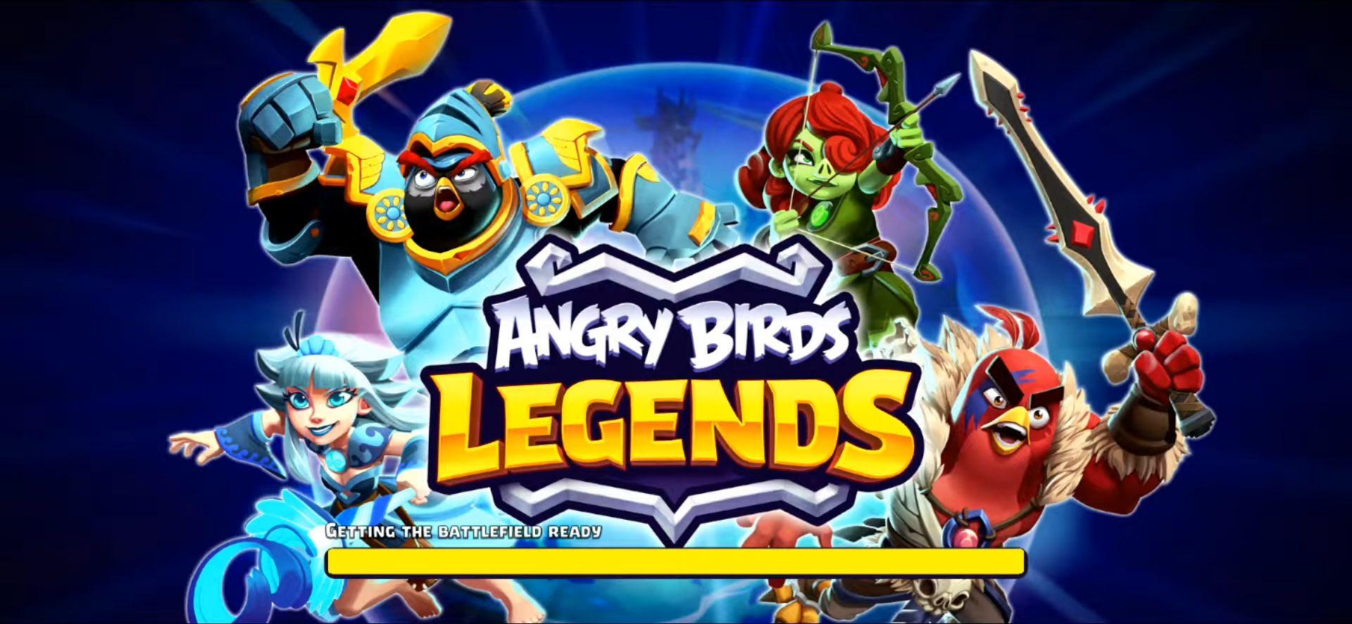 Angry Birds Legends скріншот 1