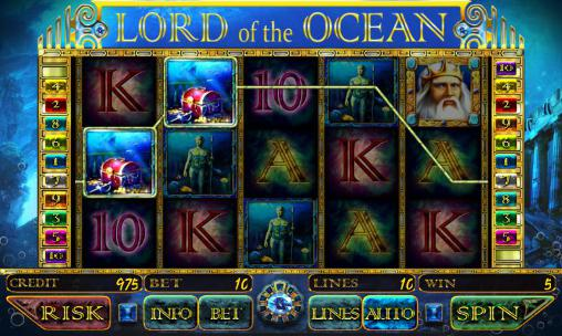 Lord of the ocean: Slot für Android