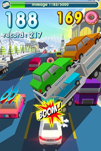 Hunger cops: Race for donuts für Android