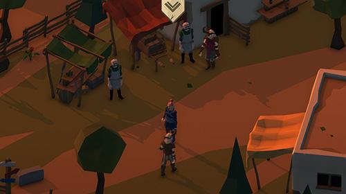 mittelalterliche Spiele Slash of sword: Arena and fights auf Deutsch