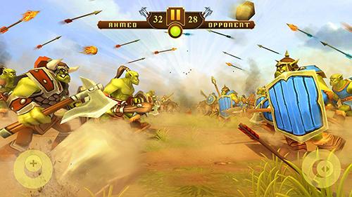 Orcs epic battle simulator für Android