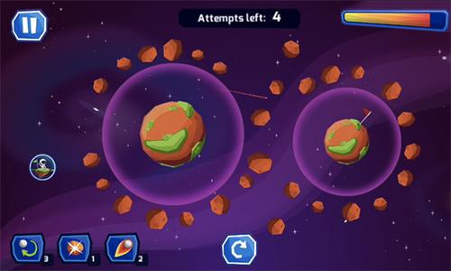 Space golf galaxy Screenshot