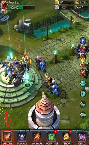 Strategy RPG games Dot alliance 3D in English