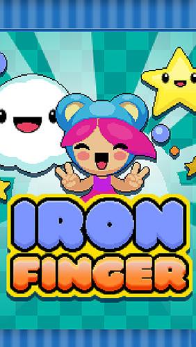 Iron finger: Arcade mini game Symbol