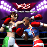 Woman fists for fighting: WFx3 icono