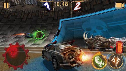 Rennspiele Rocket car ball für das Smartphone
