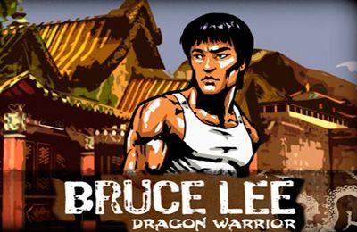 логотип Брюс Ли.  Воин Дракона
