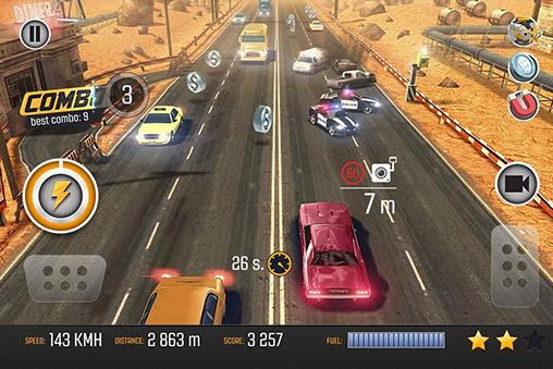 Road racing: Traffic driving für Android