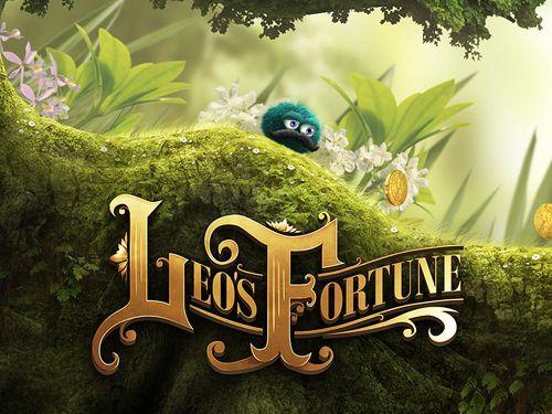 логотип Удача Лео