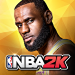 NBA 2K Mobile basketball icon