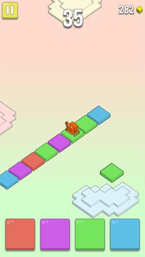 Rainbow clouds Screenshot