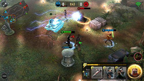 Onlinespiele: Lade Star Wars: Macht-Arena auf dein Handy herunter