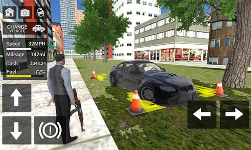 Gangster crime car simulator für Android