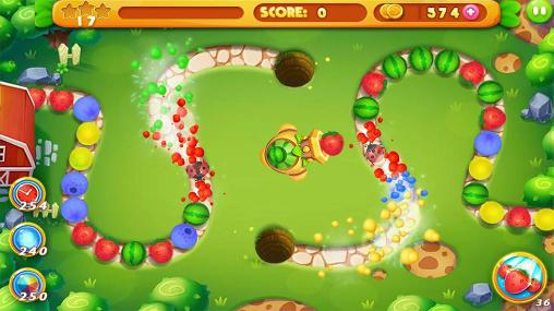 Fruit marble screenshot 1