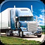 Big truck hero: Truck driver Symbol