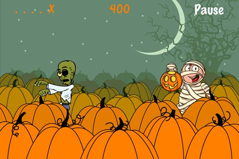 Zombie Halloween for iPhone for free